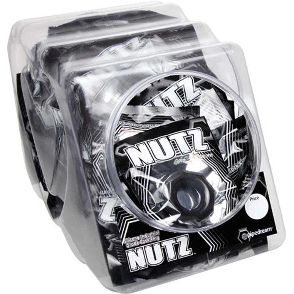U Got Nutz Bowl of 48 Waterproof Jelly Cockrings - View #1