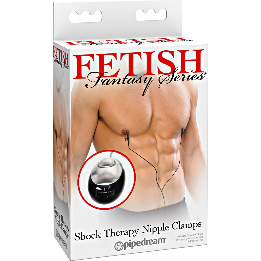 Fetish Fantasy Series Shock Therapy Nipple Clamps - View #4