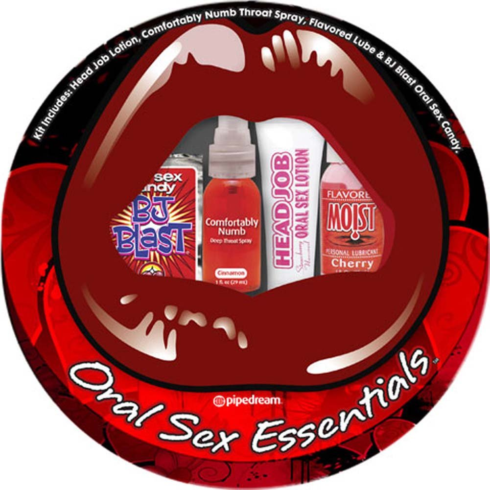 Pipedream Oral Sex Essentials Kit for Lovers - View #2