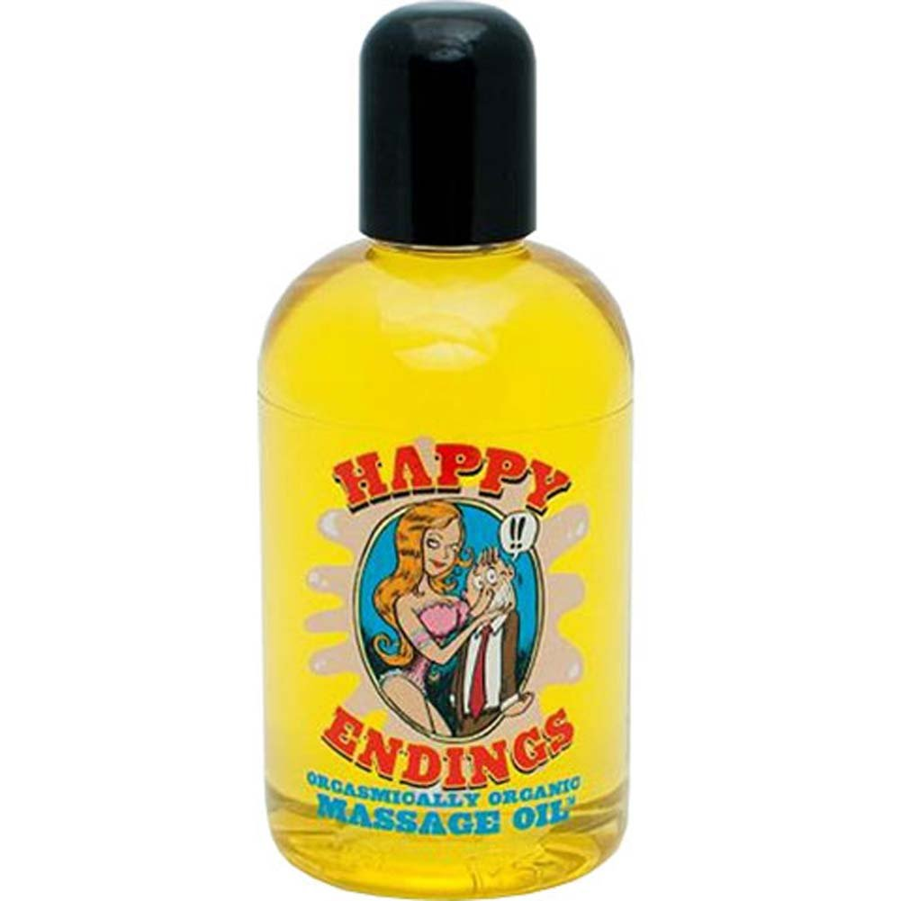 Happy Endings Cherry Pie Orgasmically Organic Massage Oil - View #1