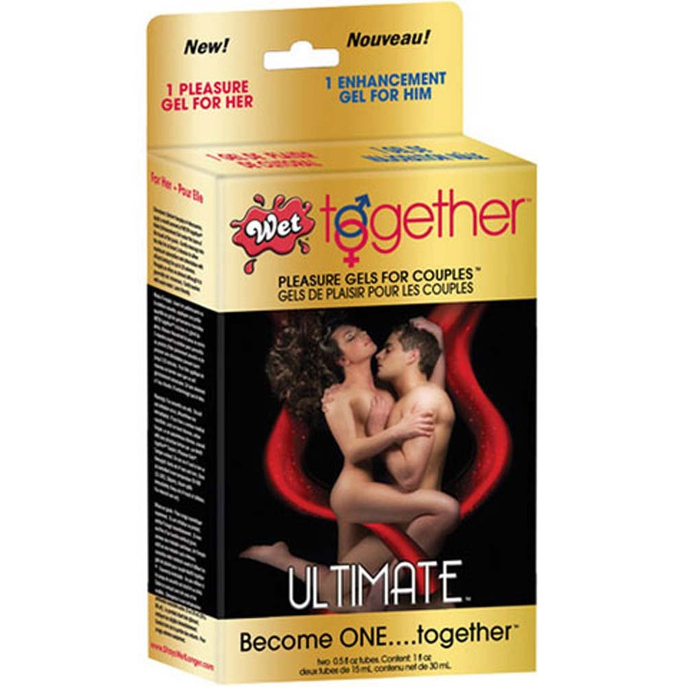 Wet Together Ultimate Pleasure Gels for Couples - View #2