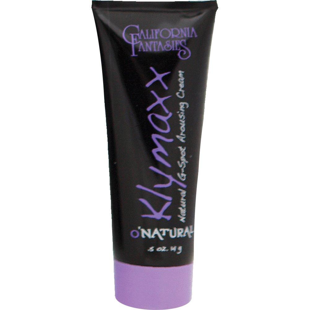 California Fantasies ONatural Klymaxx G-Spot Arousing Cream 0.5 Oz 14 G - View #2