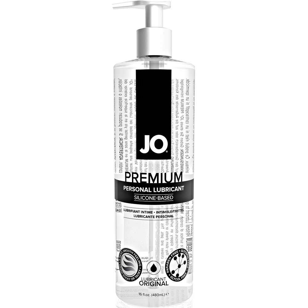 JO Premium Original Silicone Based Personal Lubricant 16 Fl.Oz 480 mL - View #2