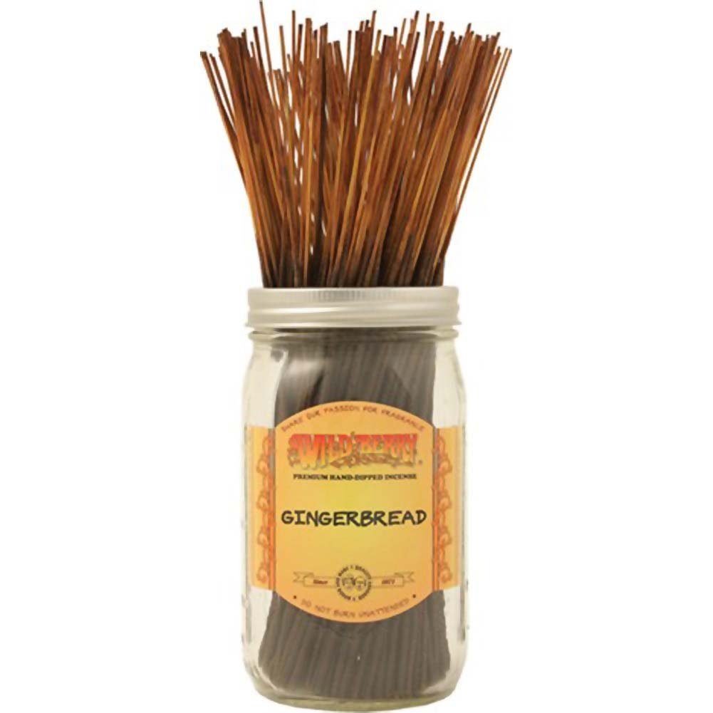 Wild Berry Incense Gingerbread 100 Sticks Count Bundle - View #1
