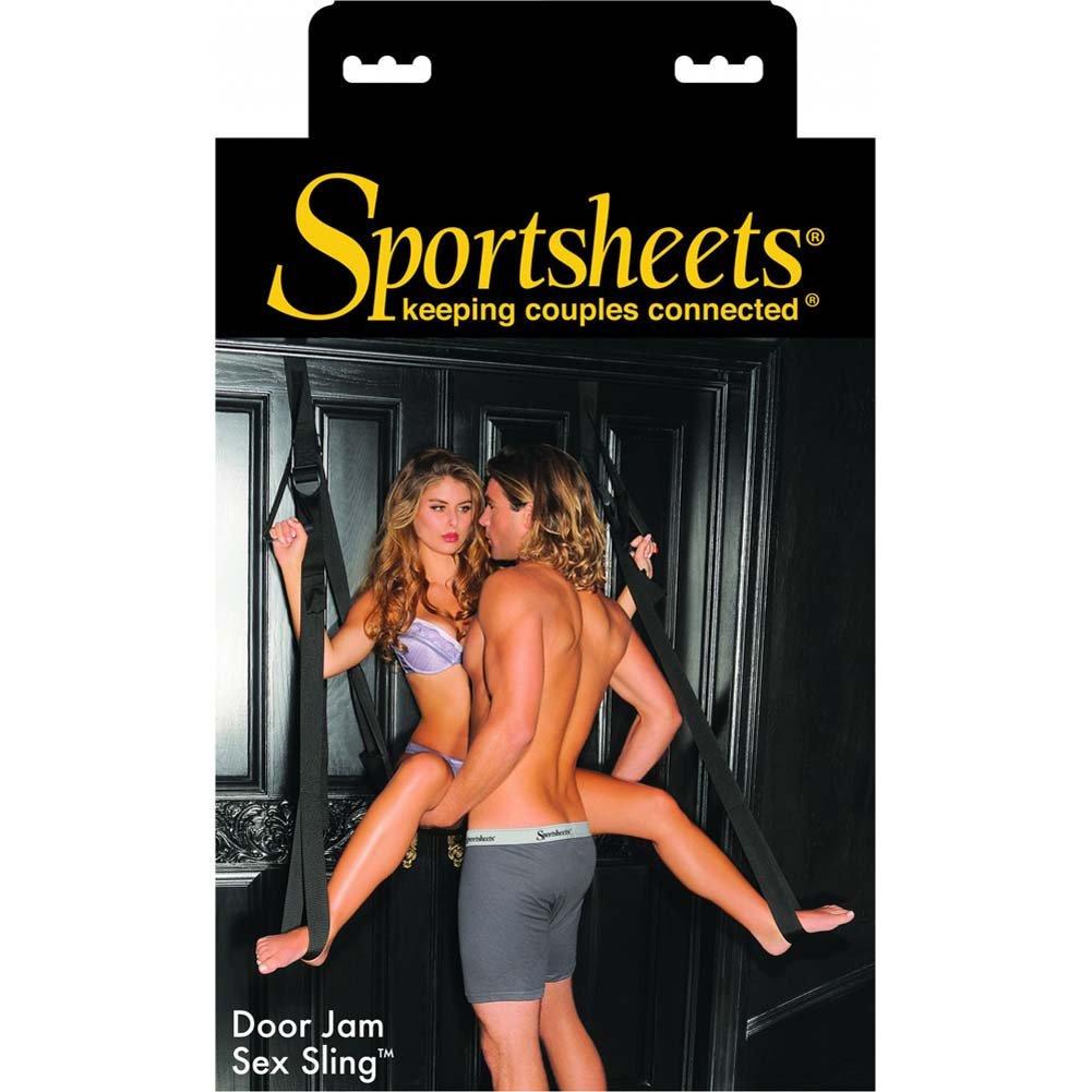 Sportsheets Door Jam Sex Sling Black - View #4