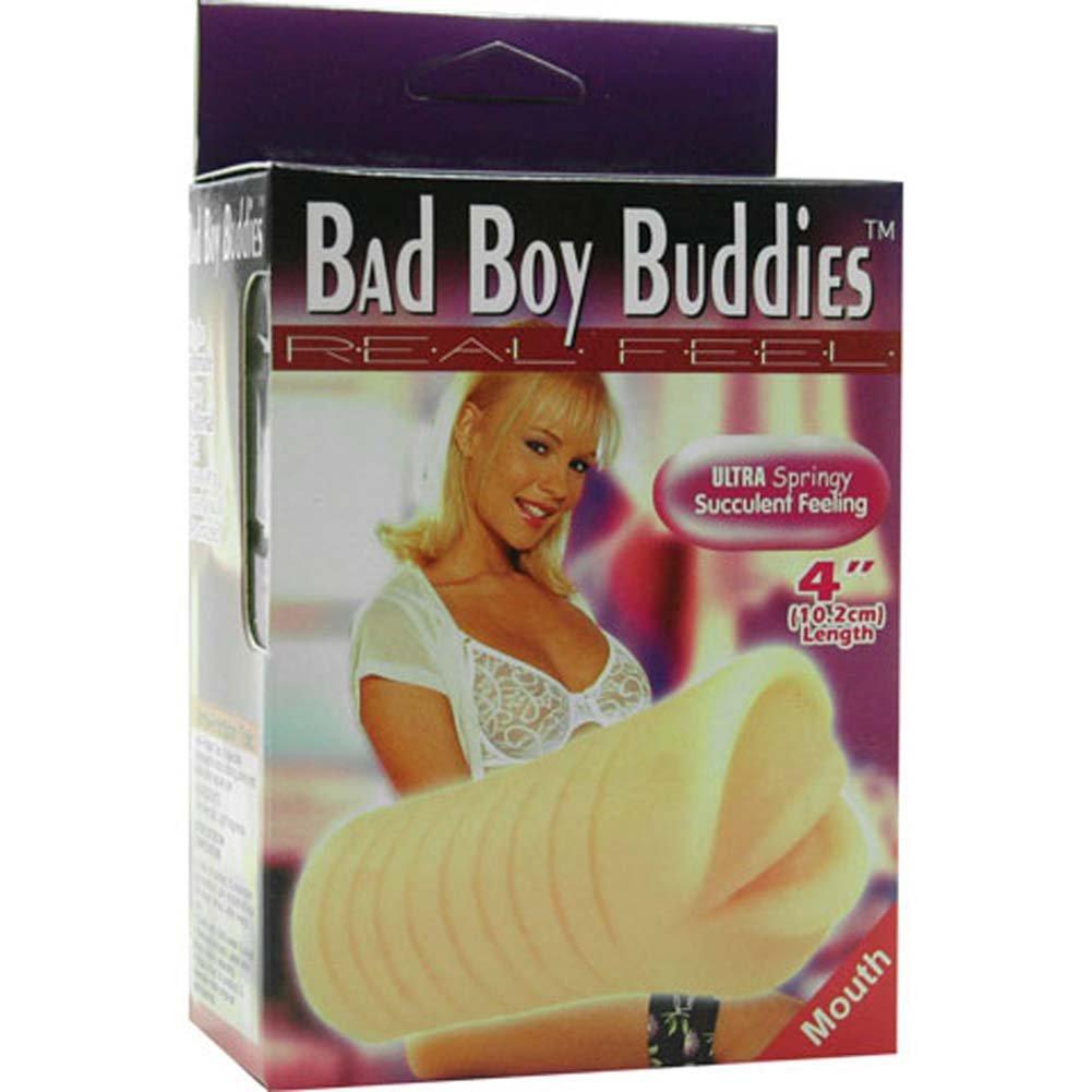 Bad Boy Buddies Real Feel Jelly Mouth Masturbator - View #1