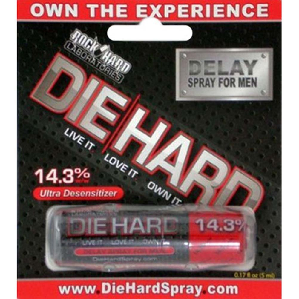 Die Hard Topical Delay Spray for Men - View #1