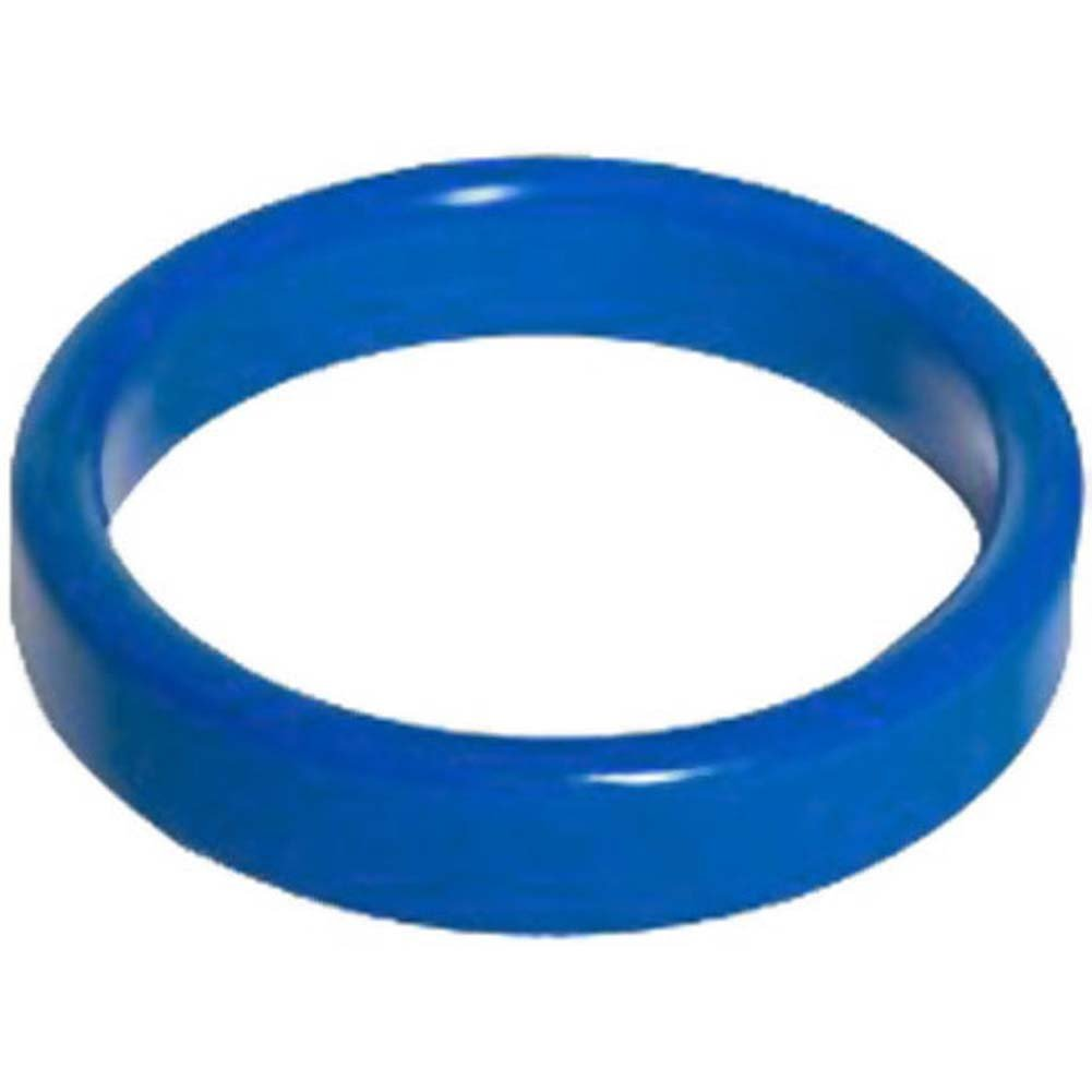 "TitanMen Metal Cockring 1.5"" 40 Mm Blue - View #1"