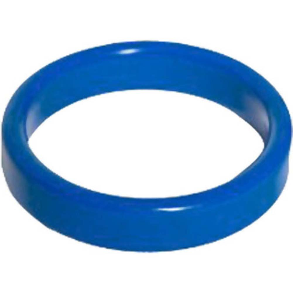 "TitanMen Metal Cockring 2"" 50 Mm Blue - View #1"