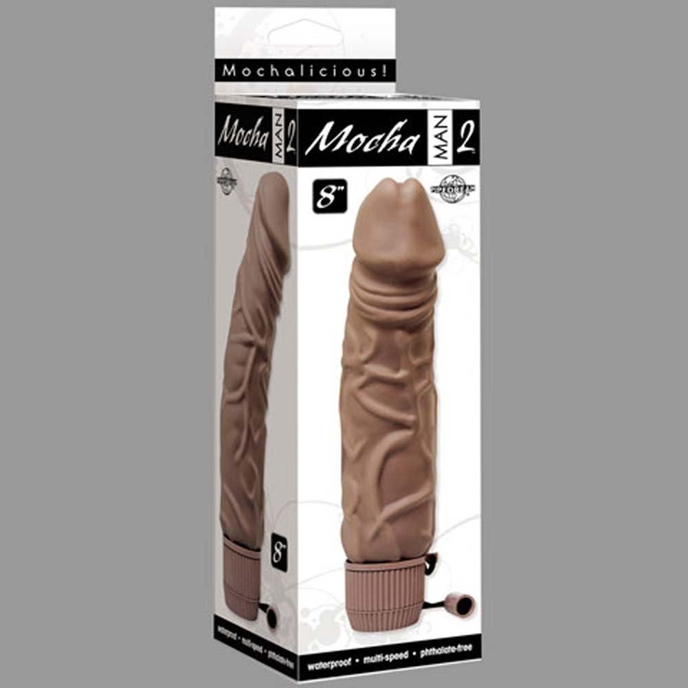 """Mocha Man Number 2 Waterproof Vibe 8"""" - View #3"""