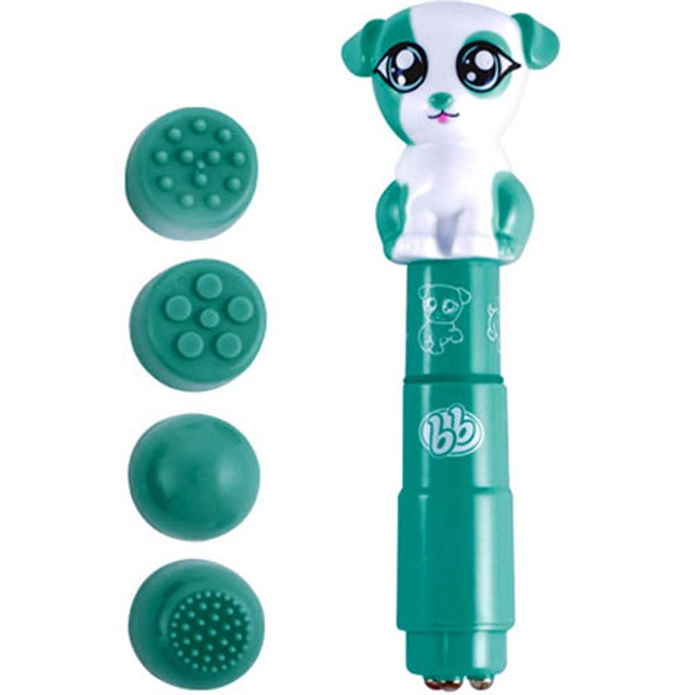 Bzzz Buddies Paws Vibrator with 4 Interchangeable Tips - View #1