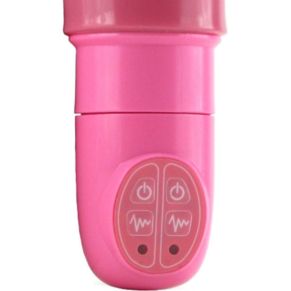 "Belladonnas Gangbanger Waterproof Vibrator 14"" Pink - View #2"