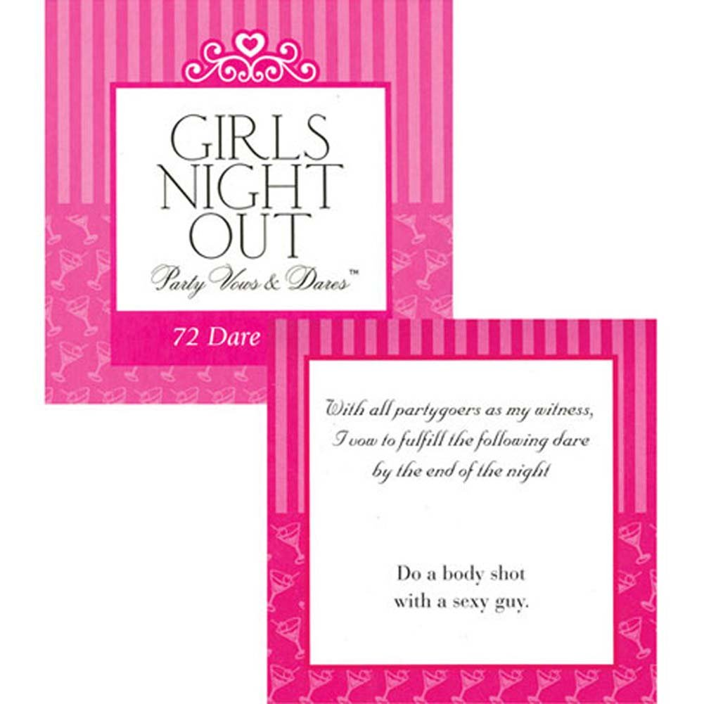 Girls Night Out Party Vows and Dares Game - View #1