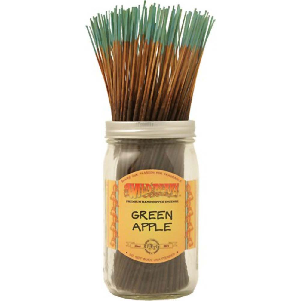 Wild Berry Incense Green Apple 100 Sticks Count Bundle - View #1