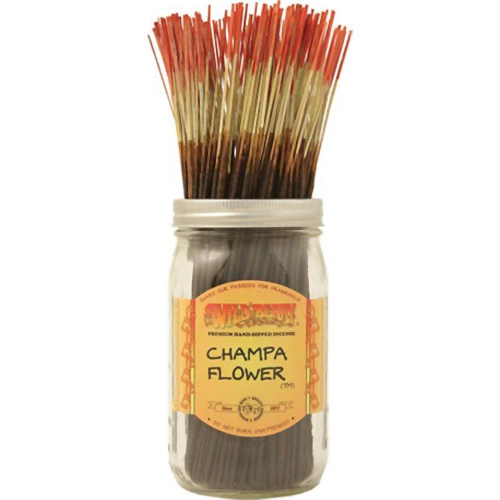 Wild Berry Incense Champa Flower 100 Sticks Count Bundle - View #1