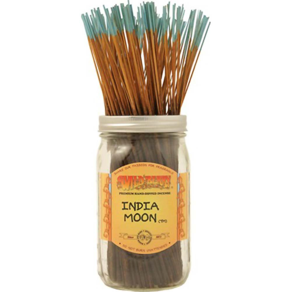 Wild Berry Incense India Moon 100 Sticks Count Bundle - View #1