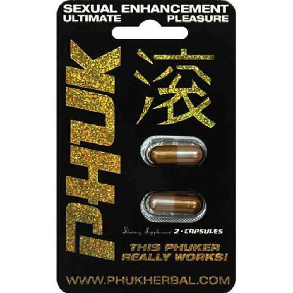 Phuk Herbal Male Sexual Enhancement 2 Cupsules - View #1