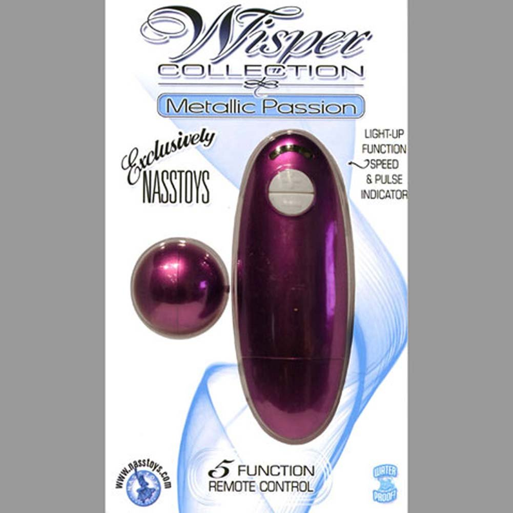Wisper Collection Metallic Passion Waterproof Vibe Pink - View #2