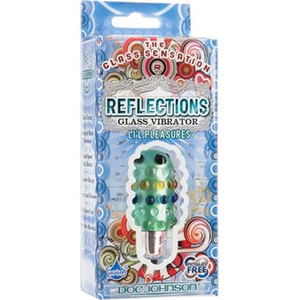 Reflections Lil Pleasures Waterproof Vibrating Bullet Green - View #1