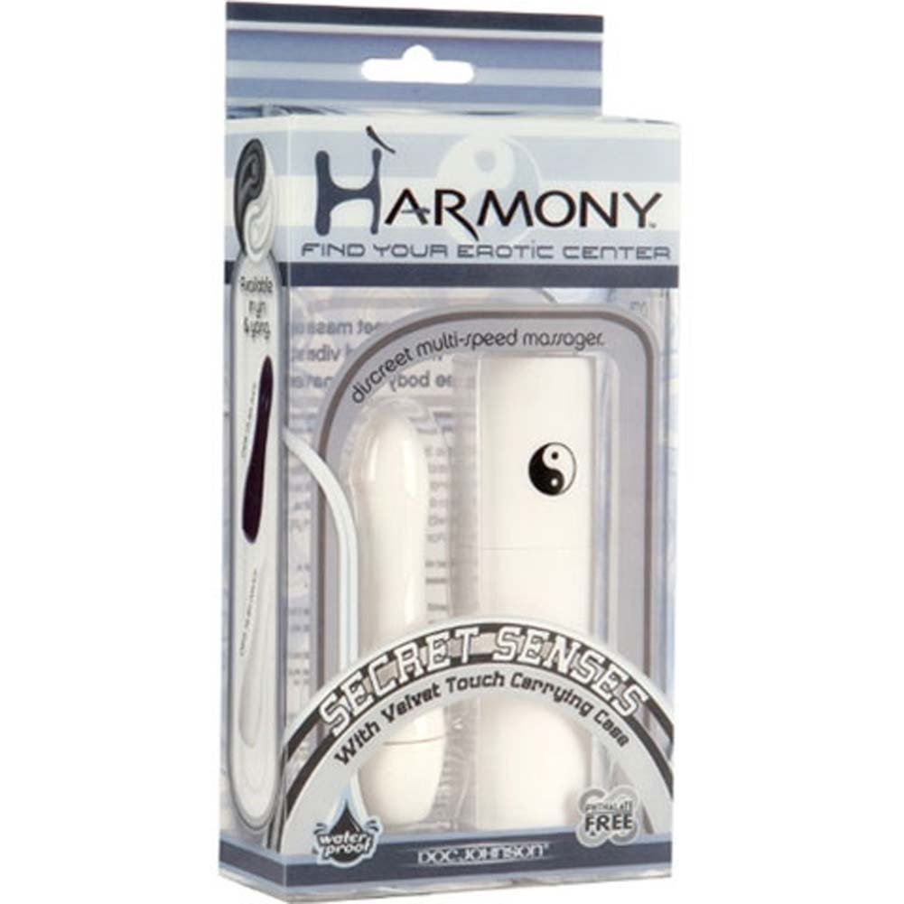 "Harmony Secret Senses Waterproof Mini Vibe 3.5"" White - View #1"