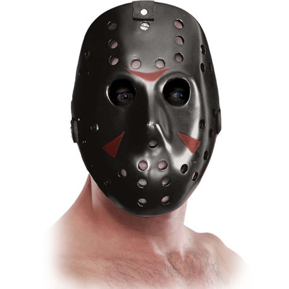 Fetish Fantasy Extreme Freaky Jason Mask Black RbDV - View #1