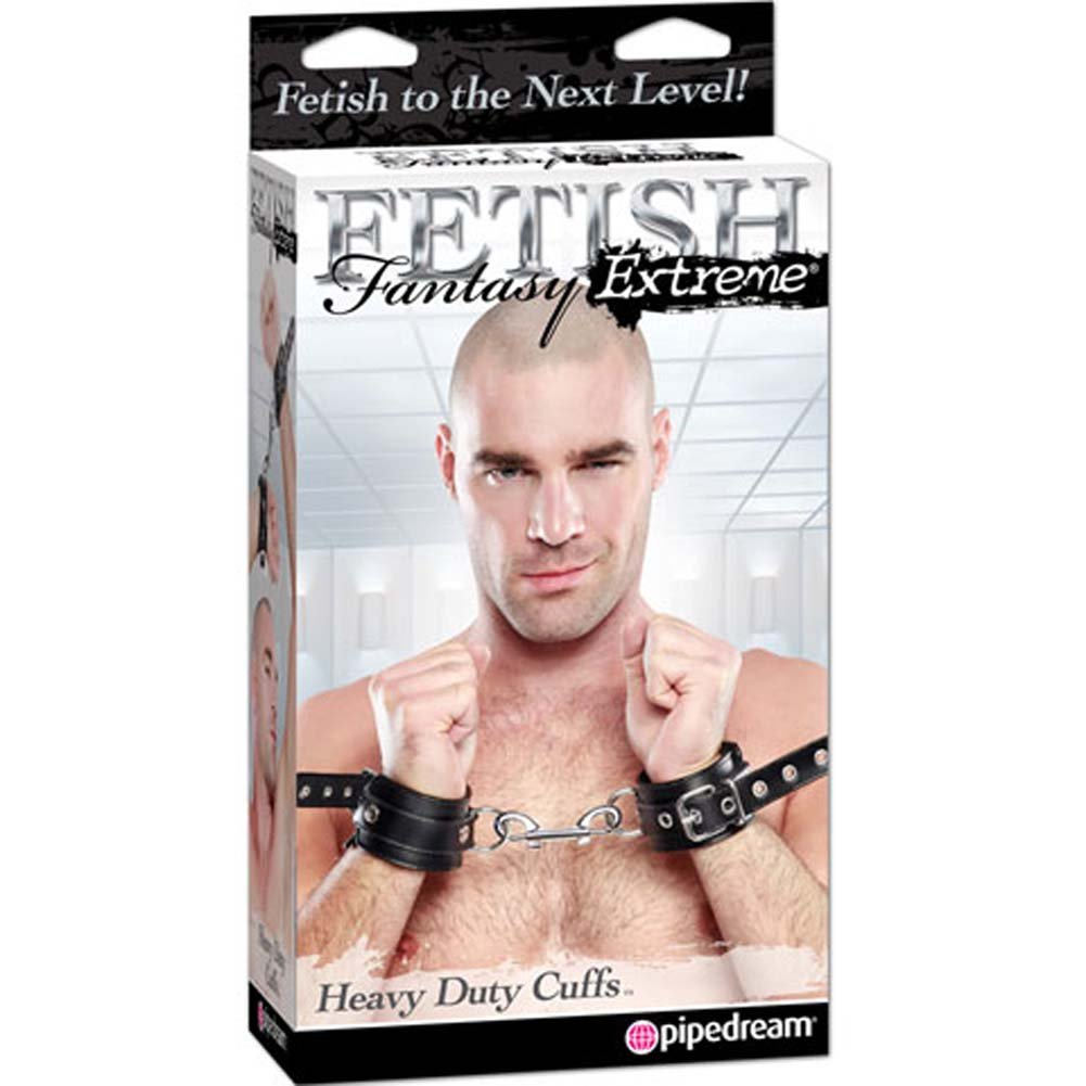 Fetish Fantasy Extreme Heavy Duty Cuffs Black - View #4