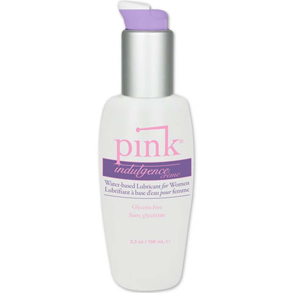 Pink Indulgence Creme Personal Water Based Lubricant for Women 3.3 Fl.Oz 100 mL - View #1