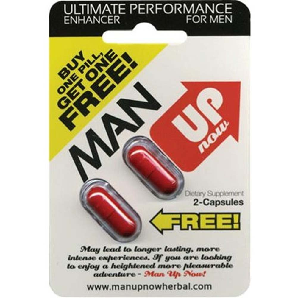 Man Up Now 2 Capsules Count - View #1