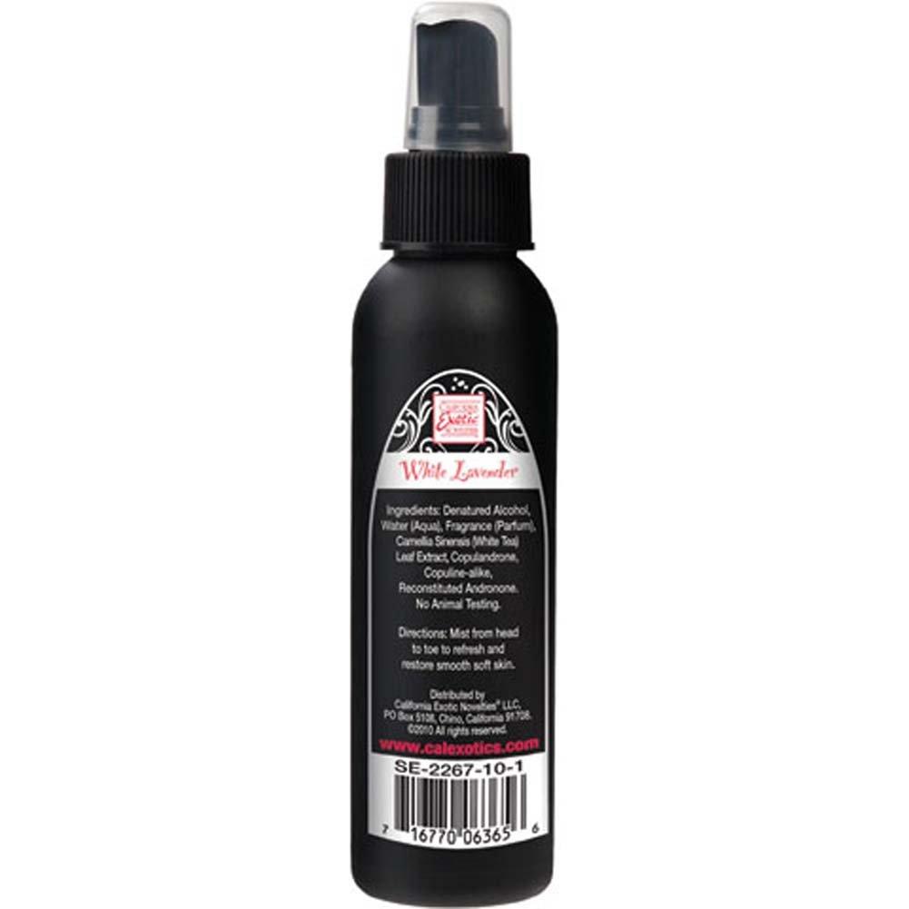 California ExoticsTantric Pheromone Enriched Body Mist 4 Fl.Oz 118 mL White Lavender - View #1