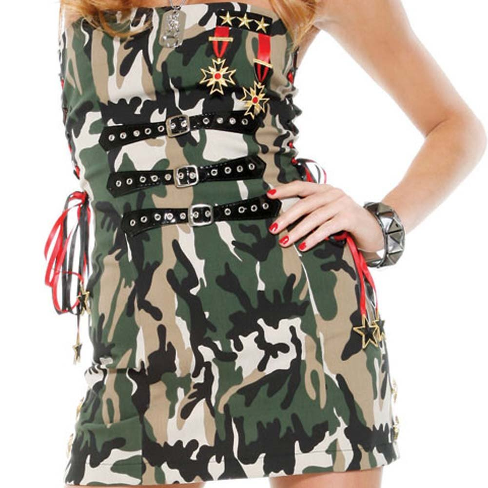 Flirty Soldier Costume Small/Medium - View #4