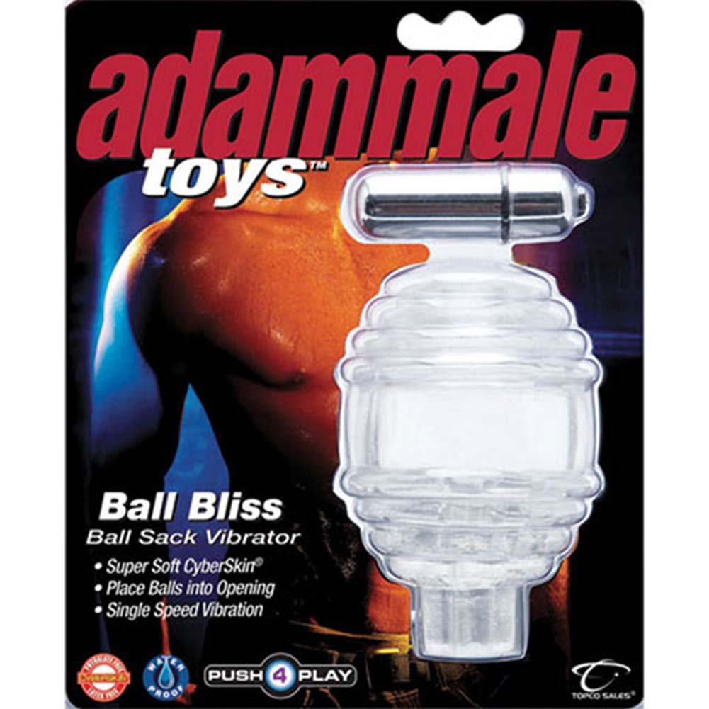 Adam Male Toys Ball Bliss Ball Sack CyberSkin Vibrator - View #4
