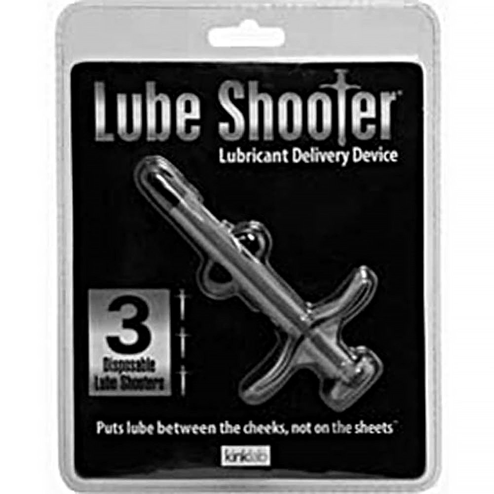 Lube Shooter Pack with 3 Disposable Shooters Smoke - View #4