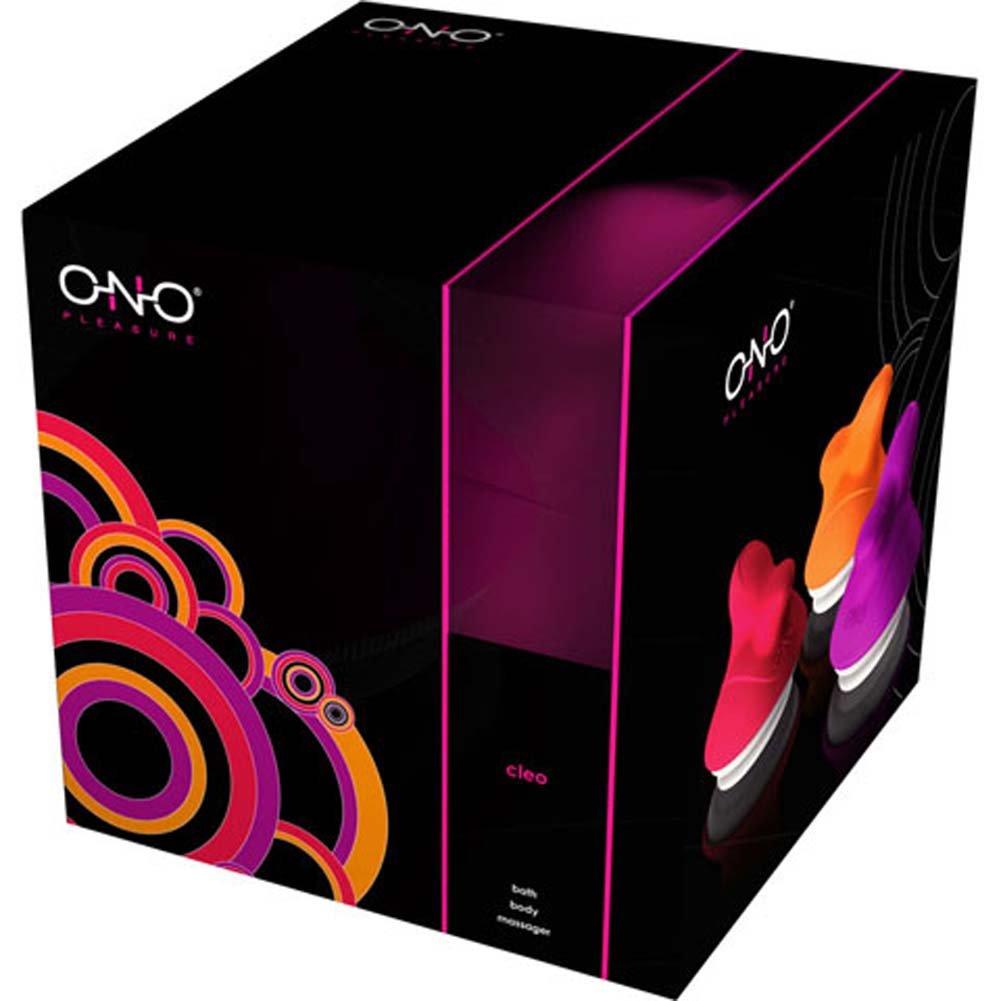 Lelo ONO Pleasure Cleo Bath Vibrating Silicone Massager Purple - View #2