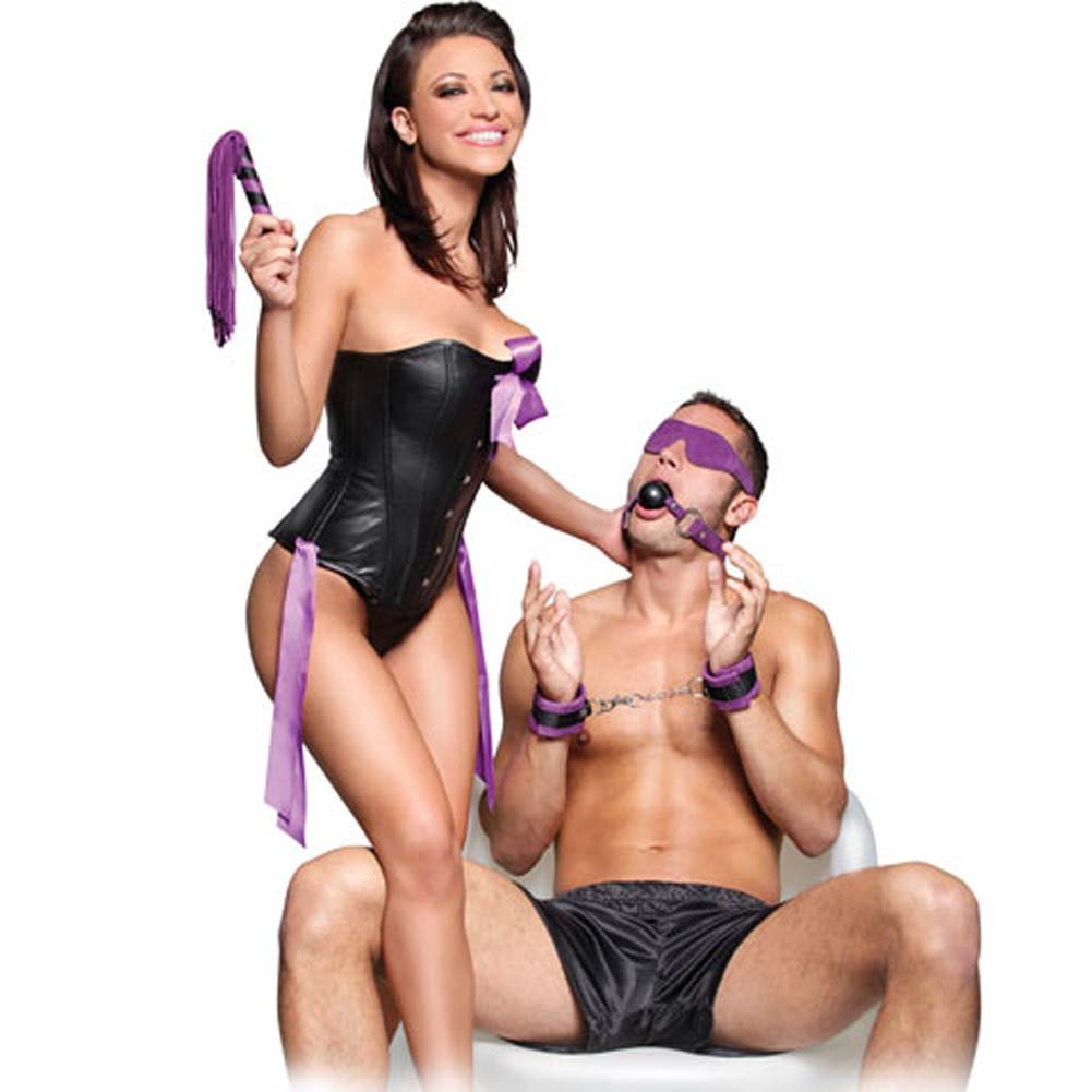 Fetish Fantasy Series Suede Fantasy Kit Purple RbDV - View #1