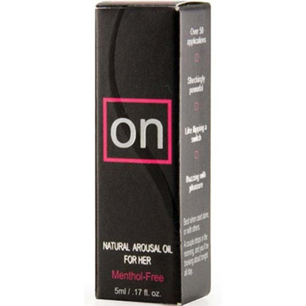 Sensuva ON Natural Arousal Oil for Her 0.17 Fl. Oz. - View #1