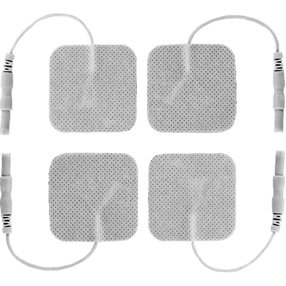 Zeus Electrosex Adhesive Electro Pads 4 Pack - View #1