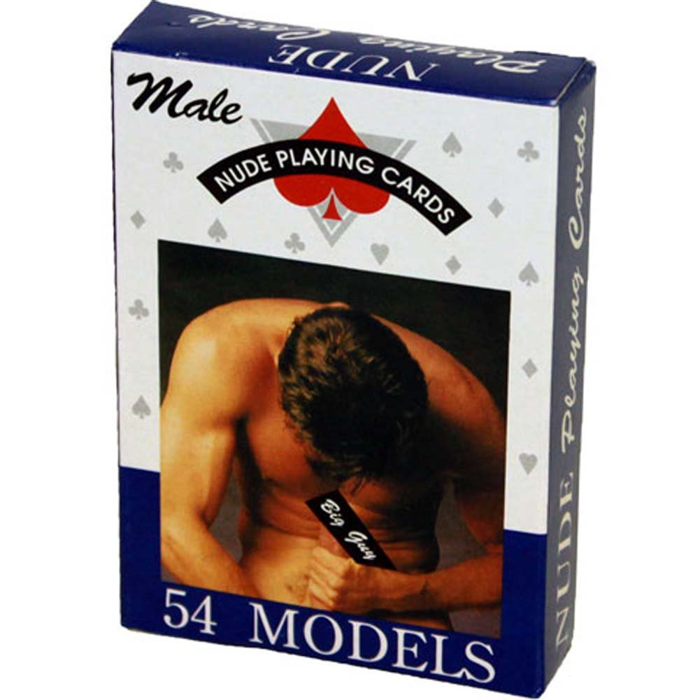Male Nude Playing Cards - View #2