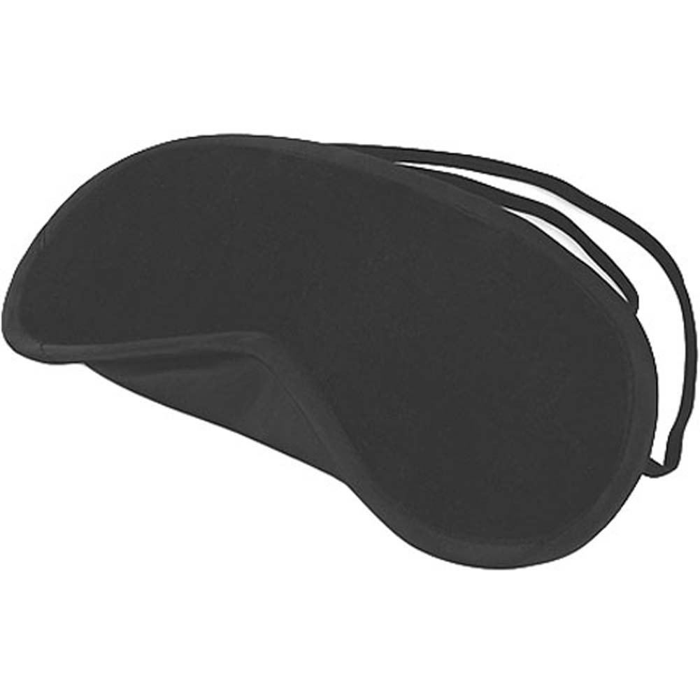 Lux Fetish Peek a Boo Love Mask Black - View #1