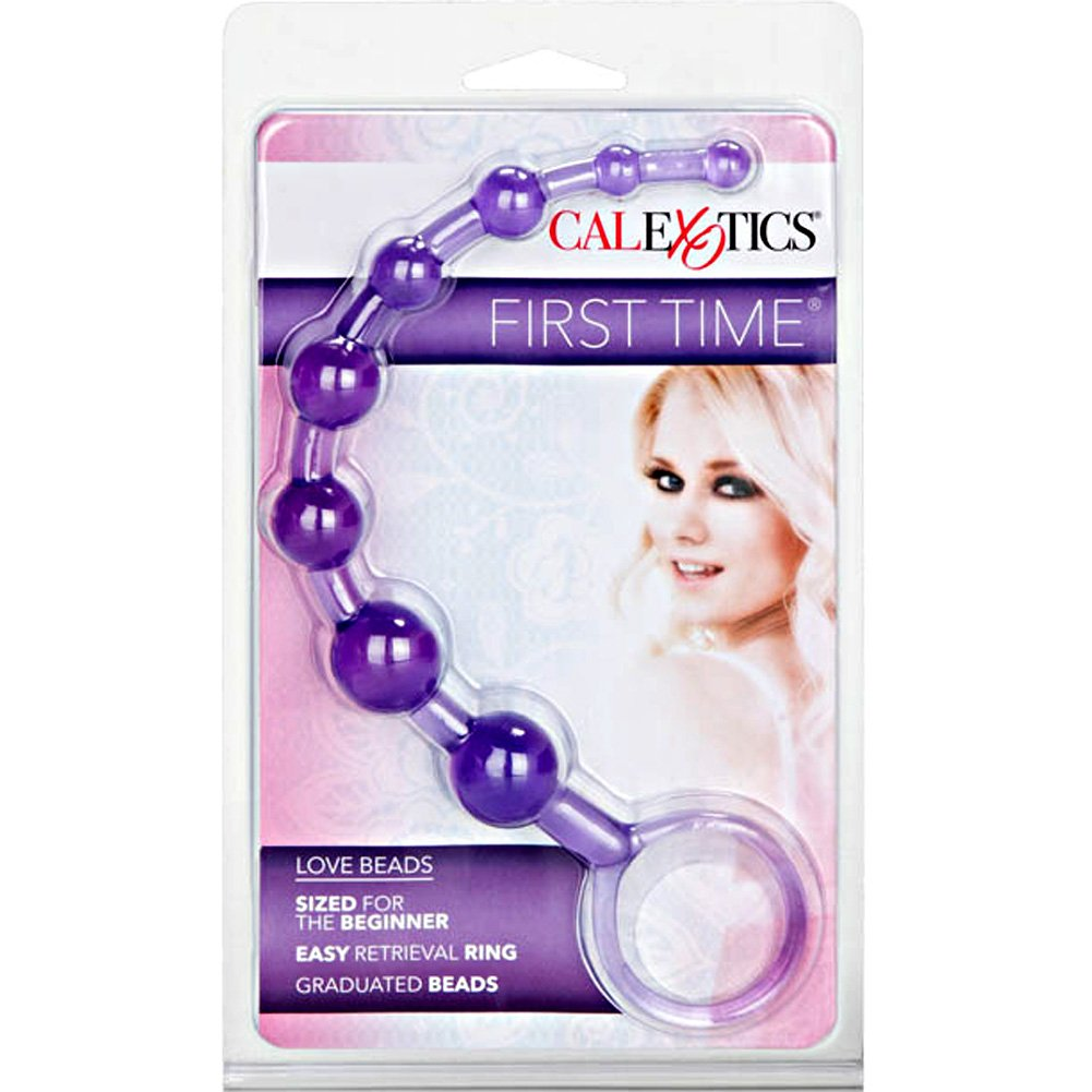 "CalExotics First Time Bendable Love Beads 11"" Kinky Purple - View #4"
