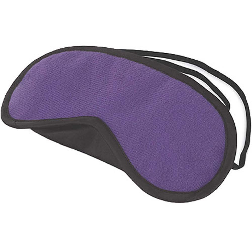 Lux Fetish Peek A Boo Love Mask Purple - View #2