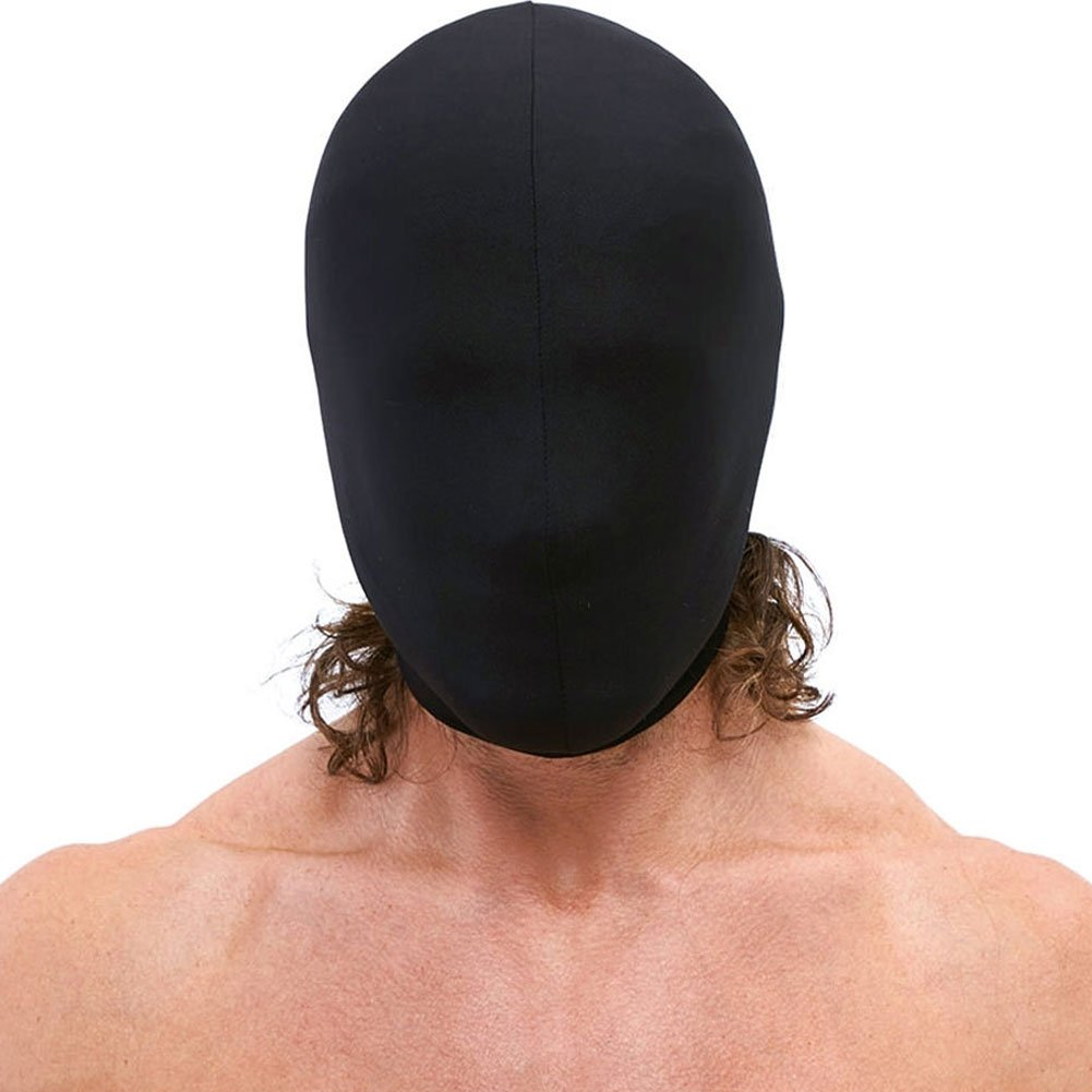 Lux Fetish Stretch Hood One Size Black - View #2