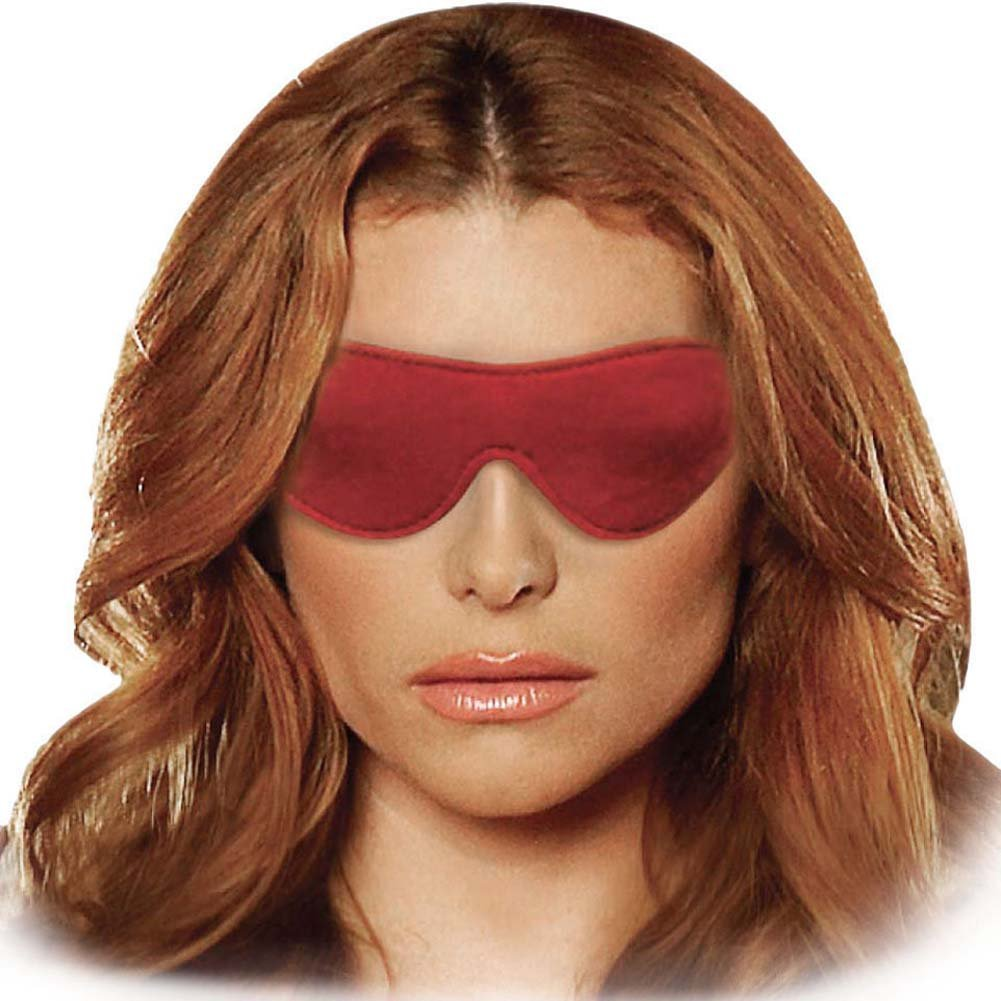 Lux Fetish Unisex Blindfold Red - View #1