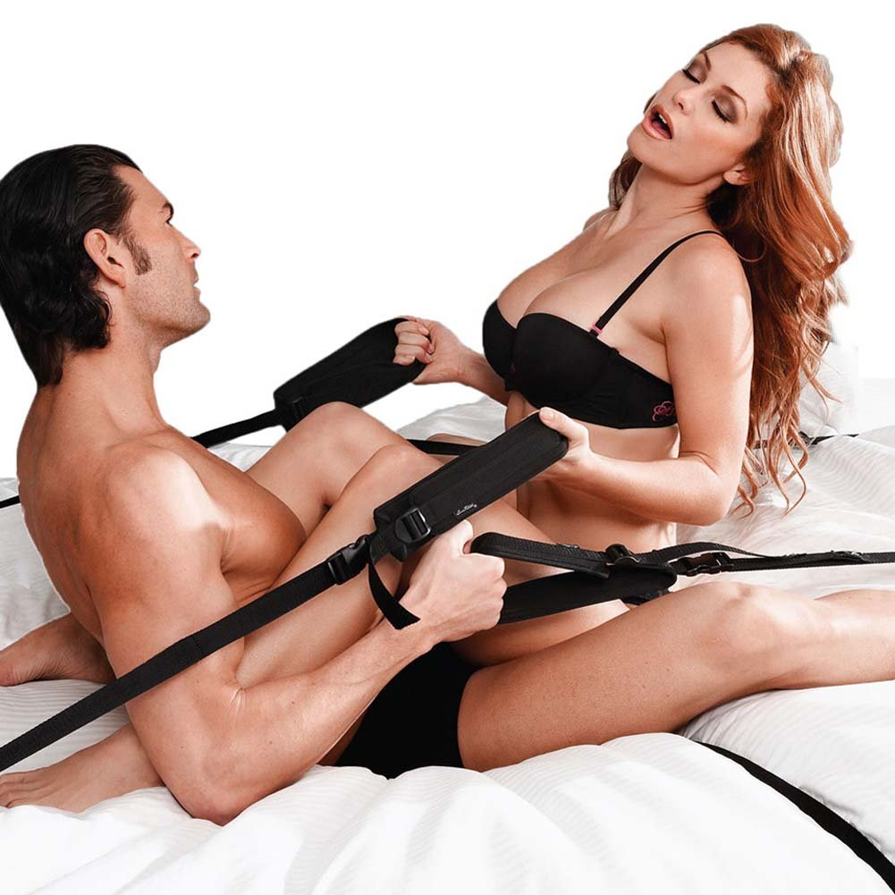 Lux Fetish Perfect Penetration Bed Kit Black - View #1