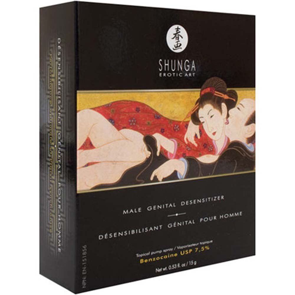Shunga Male Genital Desensitizer Spray 0.53 Fl.Oz 15 G - View #3