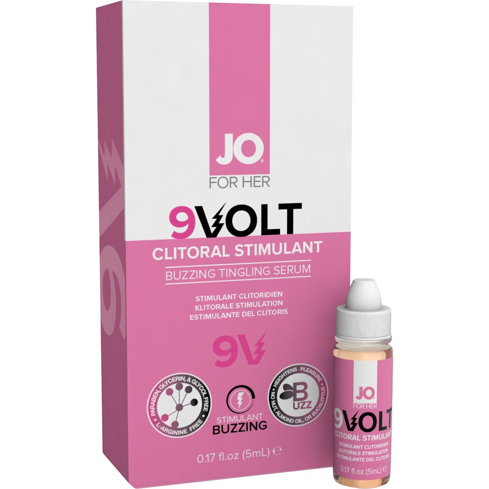 JO VOLT 9 Volt Intimate Arousal Serum Regular Strength 0.17 Fl. Oz. - View #1