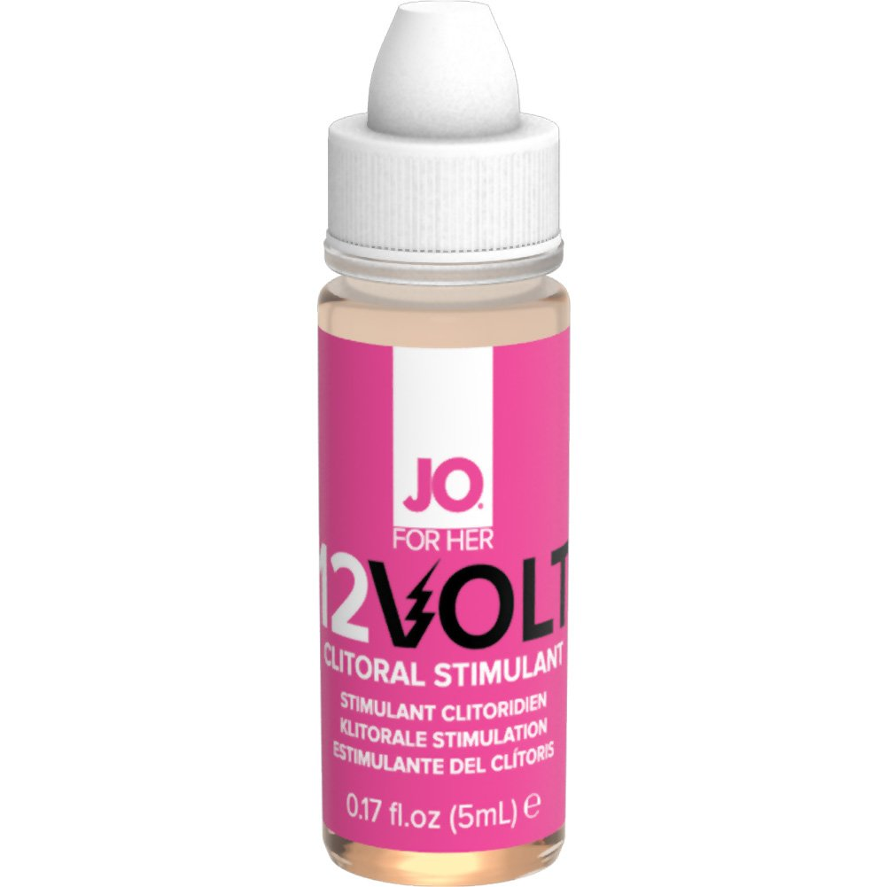 JO for Her 12 Volt Intimate Arousal Serum Extra Strength 0.17 Fl.Oz 5 mL - View #2