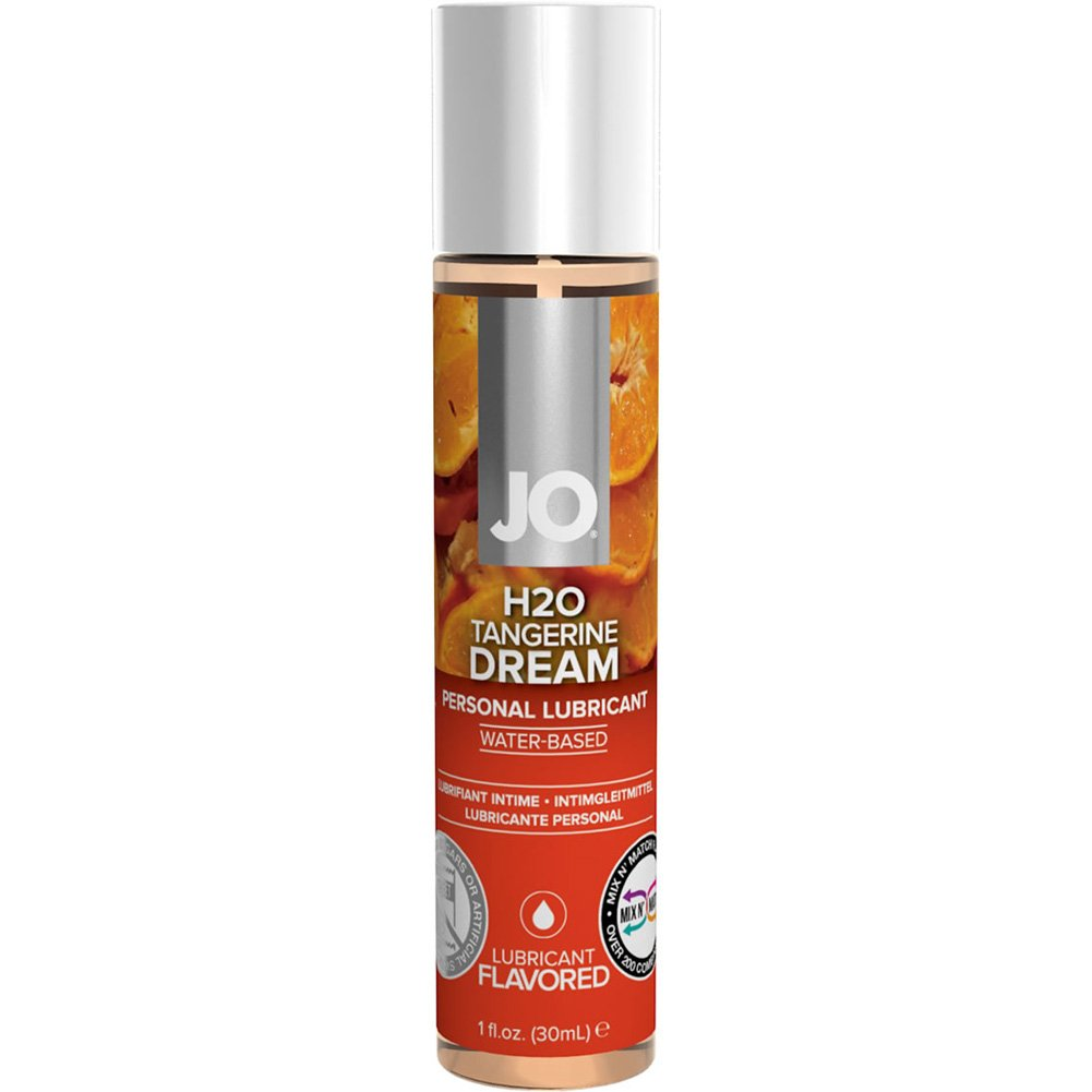JO H2O Flavored Intimate Lubricant 1 Fl.Oz 30 mL Tangerine Dream - View #1