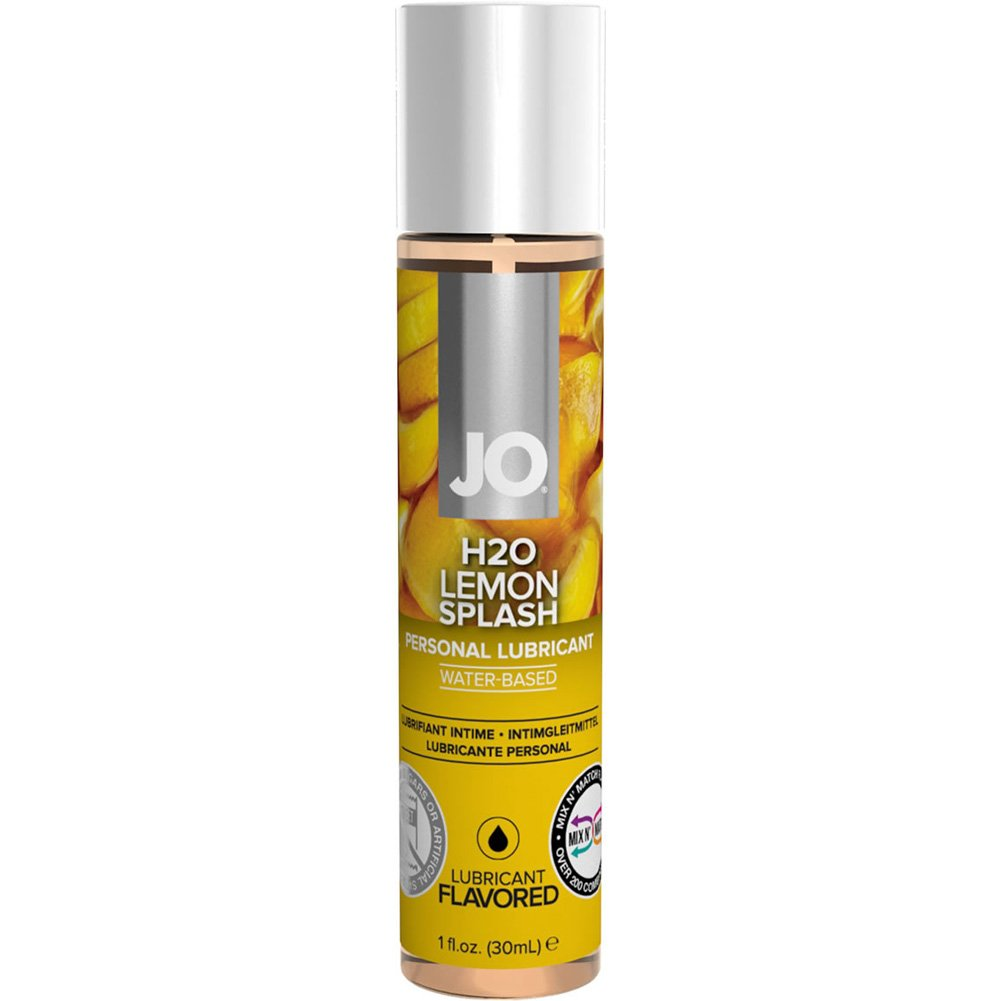 JO H2O Flavored Intimate Lubricant 1 Fl.Oz 30 mL Lemon Splash - View #1