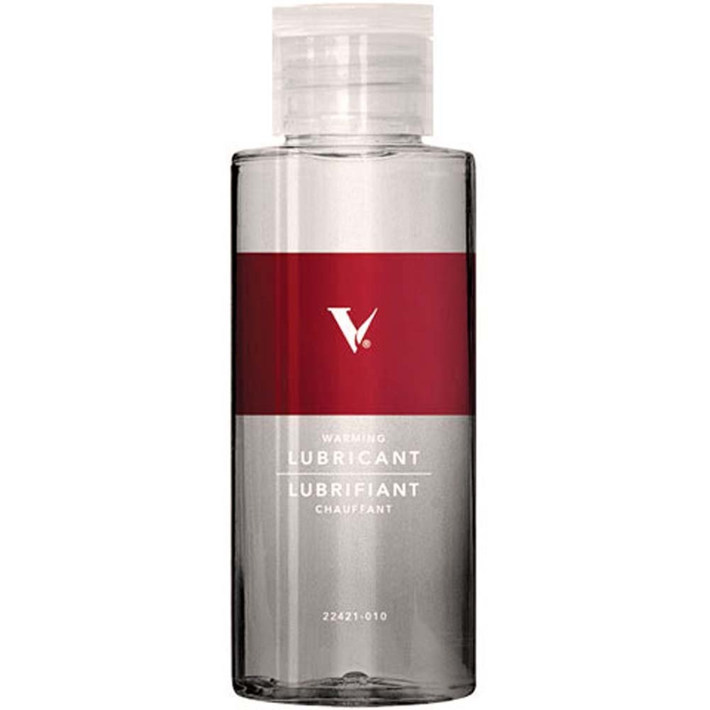 V Warming Water Based Personal Lubricant 2 Fl. Oz. 60 mL - View #1