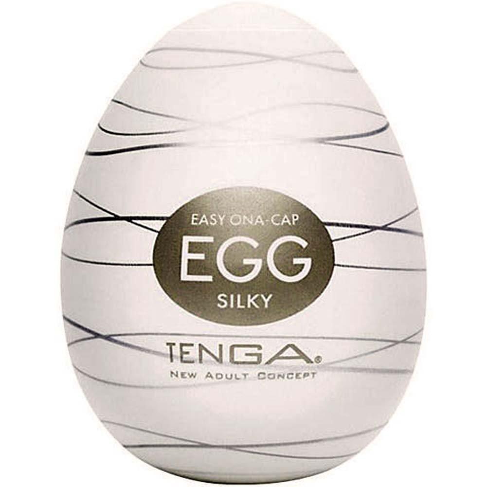Tenga Egg Portable Silicone Male Masturbator Silky - View #2